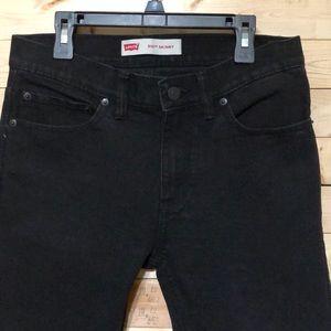 Levi's 510 skinny Black kids Jeans size 18R